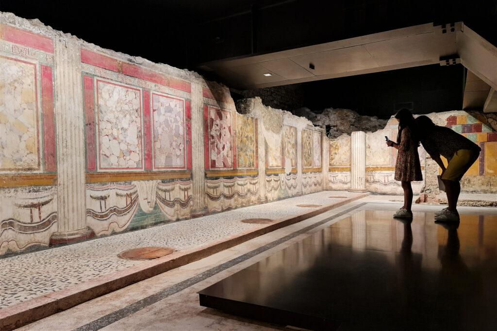 Quarta cella del Tempio repubblicano romano di Brescia