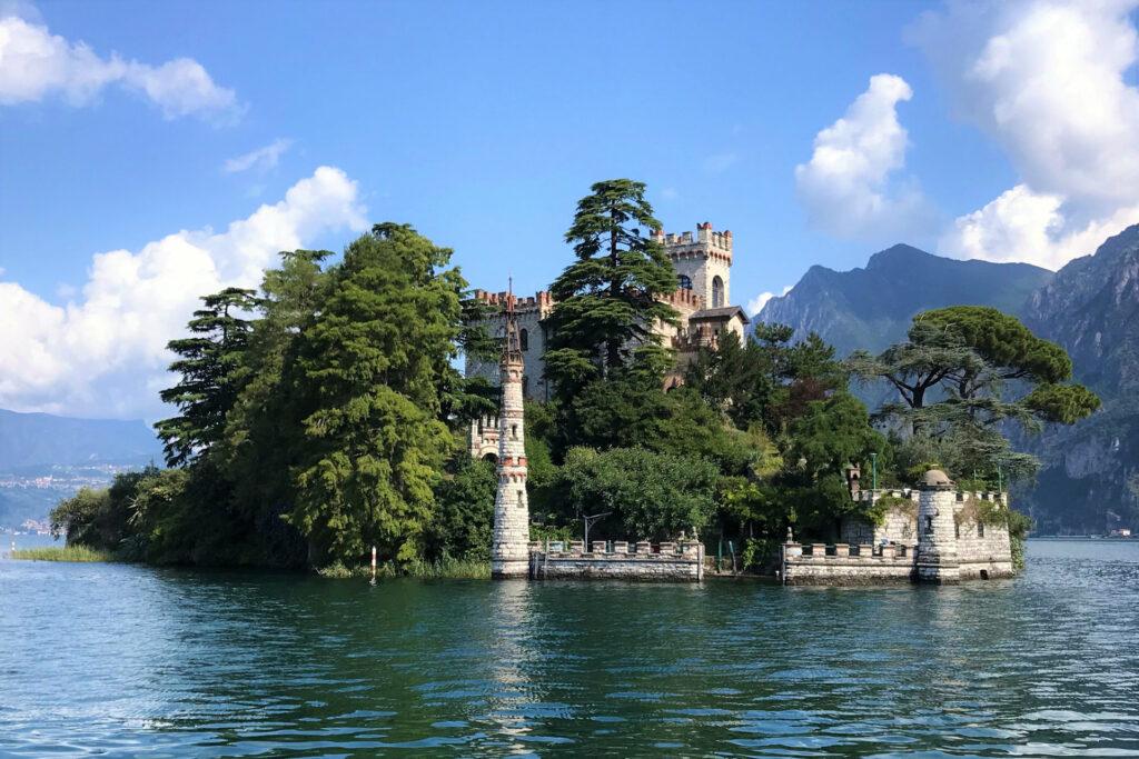 Isola di Loreto vista dall'imbarcazione