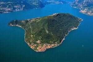 Fotografia aerea di Montisola