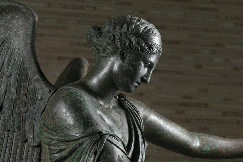 busto della Vittoria alata