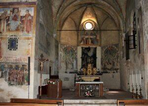abside pieve mitria nave brescia Visita online - La pieve della Mitria a Nave