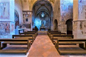 Pieve della Mitria, abside