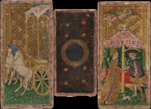 carte dal mazzo tarocchi cary yale e1617904333962 Visita online - I Tarocchi, i Visconti e gli Sforza