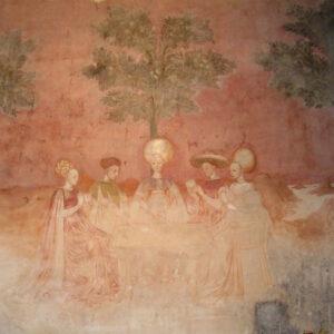 palazzo Borromeo Milano affresco del gioco dei tarocchi