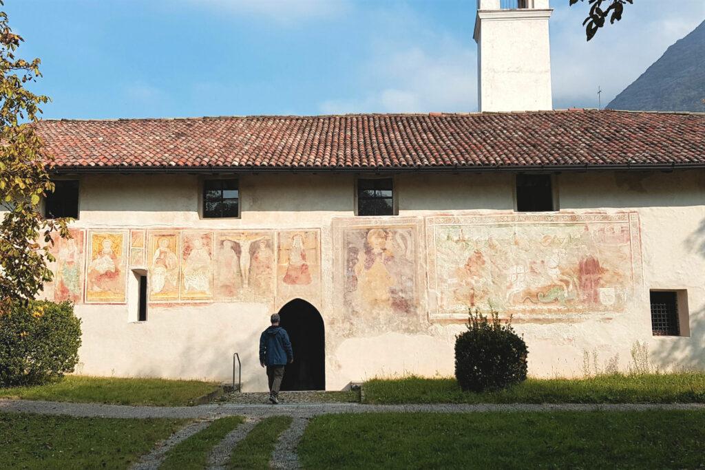 La chiesa di San Giorgio a Cislano