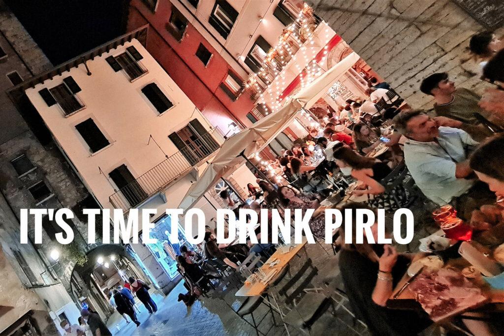 Happy hour con pirlo davanti a Porta Bruciata a Brescia